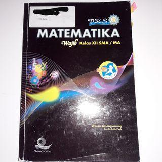 Buku pelajaran matematika wajib kelas 12 SMA