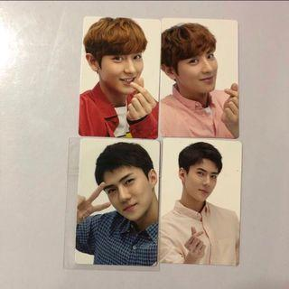 🚚 EXO Official Photocards