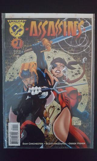 *Clearance Sale Bargain Bin Offer* Almagam Comics: Assassins #1