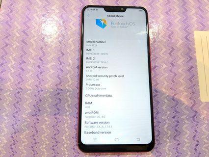 Vivo Y85 LTE 4G 4GB Ram 32GB Dual Sim