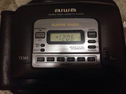 AIWA Radio Cassette Player TX361