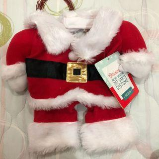 Pet Christmas Santa costume