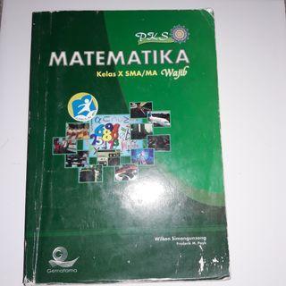 Buku pelajaran matematika wajib kelas 10 SMA