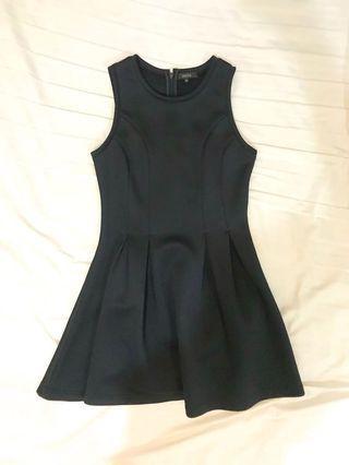 Nichii navy sleeveless dress