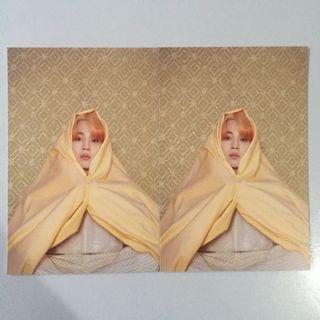 [wtt/trade] bts jimin map of the soul persona album postcard