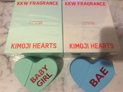 KKW FRAGRANCE (NEW) bae and baby girl
