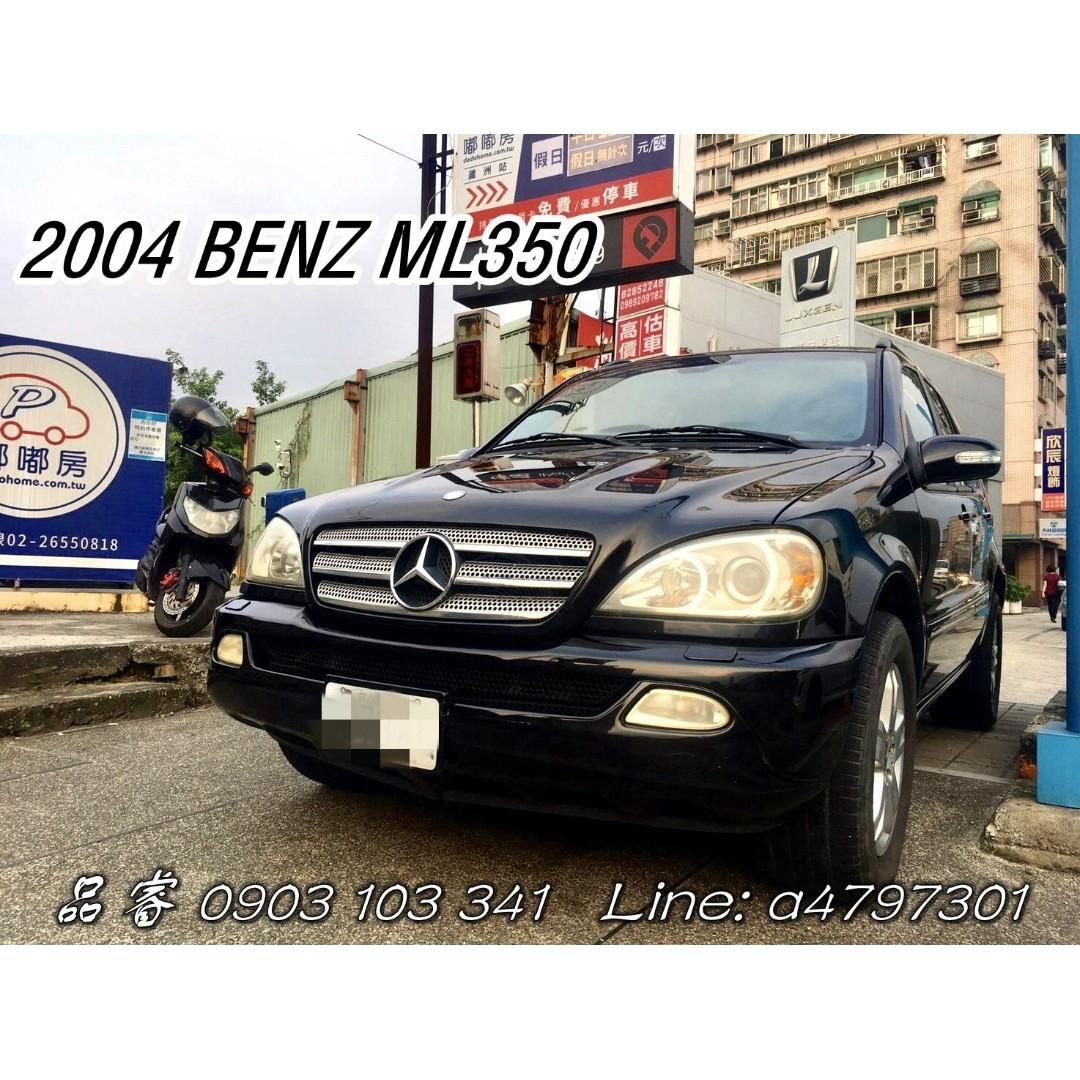 2004 BENZ ML350   車況佳|難得一見