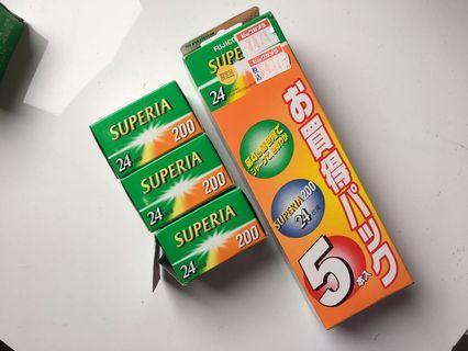 🚚 [絕版底片]fujifilm superia 200度 過期底片