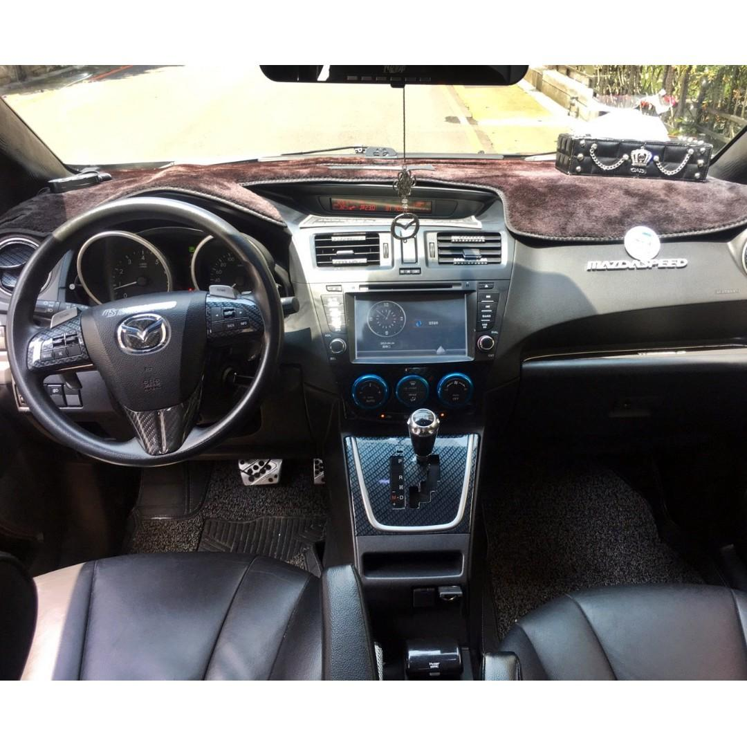 2012年 MAZDA5 精品美車 大螢幕X3 車內裝潢 底盤強化 四出尾管