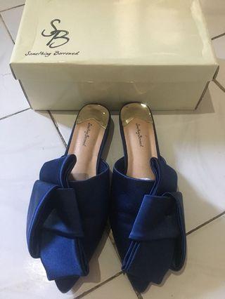 Something borrowed flat shoes / mules
