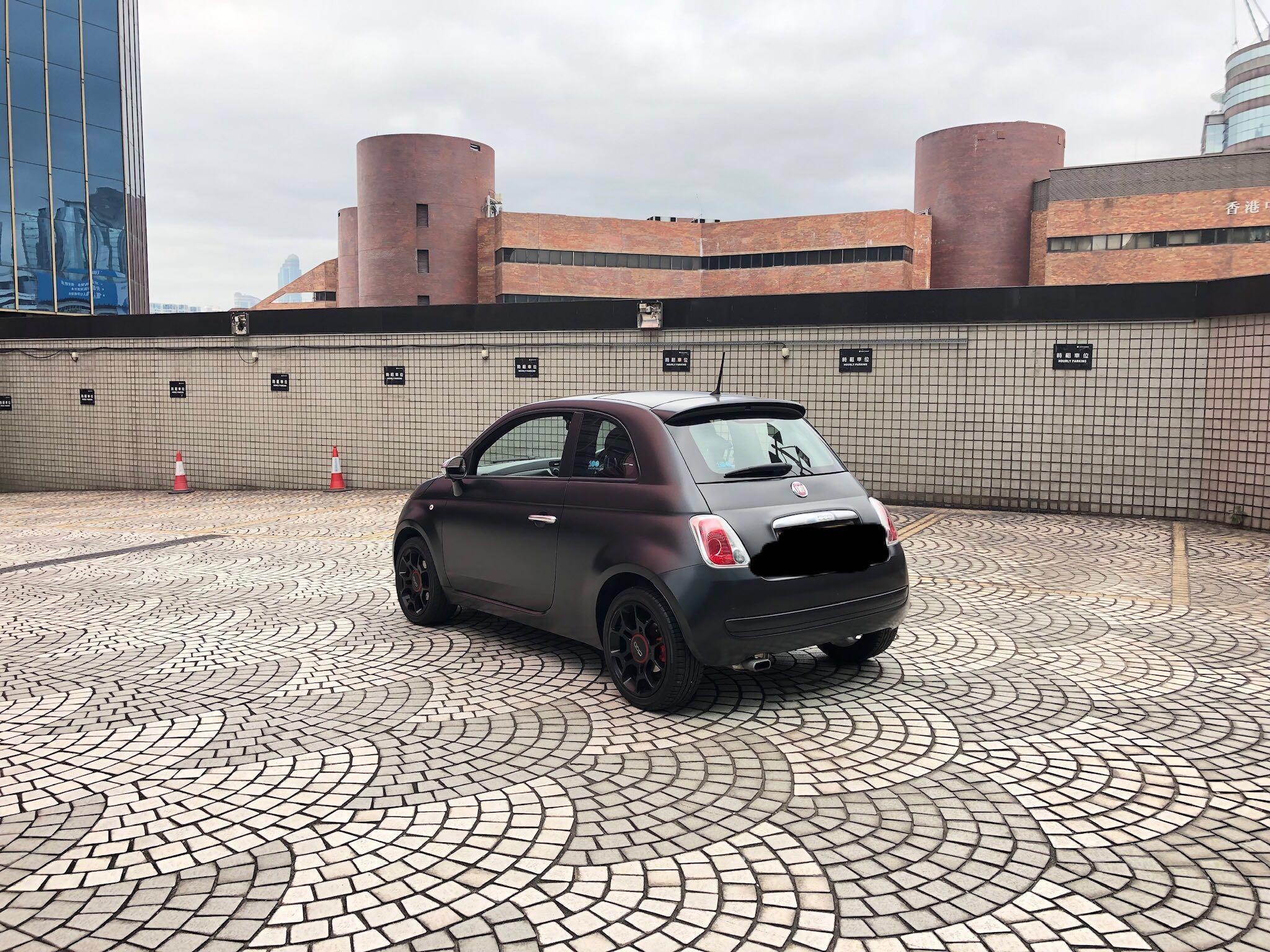 2013 FIAT 500 1.4 BLACKJACK
