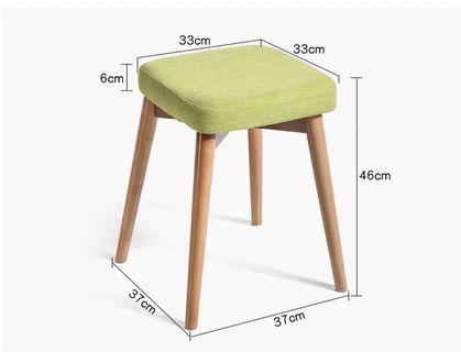 Chair 實木方凳