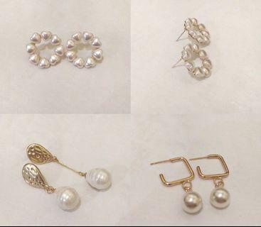 Pearl Earrings✨(Per Pasang)