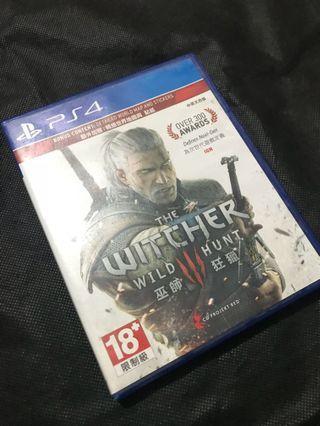 PS4 巫師狂獵 THE WITCHER WILD HUNT