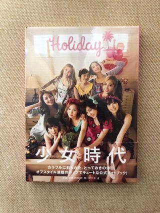 RARE SNSD Holiday Photobook
