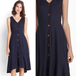 Lilypirates Tate Modern Dress in Midnight Blue