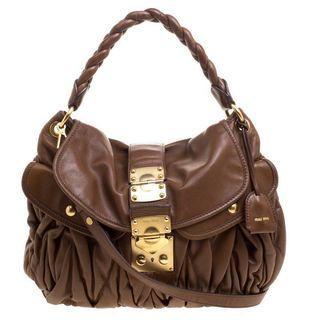 ffed6ffcf98 Authentic Miu Miu Matelasse Bag