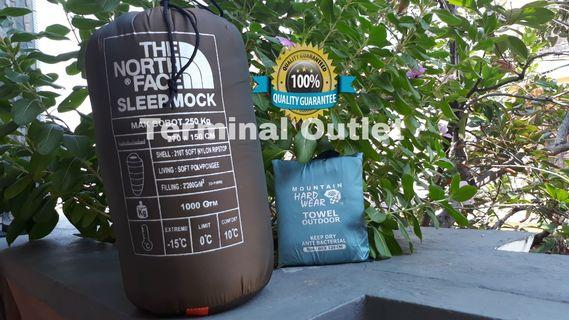 Paket Towel Microfiber 60 x 120 + Sleepmock