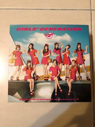 SNSD Girls & Peace Limited Edition Jap ver.