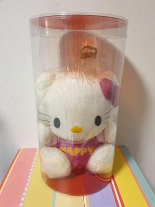 Big, Round Plastic Container (Exclude Soft Toy), H =40cm, Dia = 22.5cm