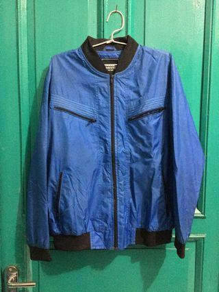 Blue Parachute Jacket