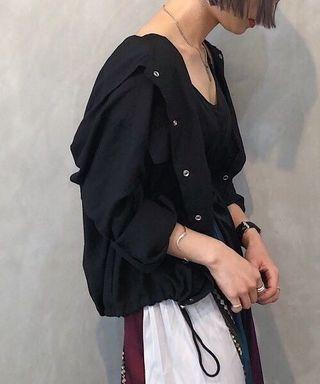 ✨NEW!推薦~日本19 pageboy人氣長袖鬆身工裝外套