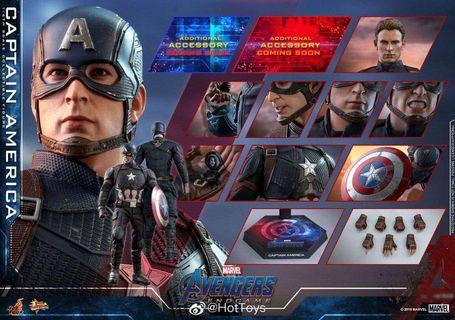 *PO* Hot toys The 1/6th scale Captain America Collectible Figure Avengers: Endgame Movie Masterpiece Figures by Hot Toys