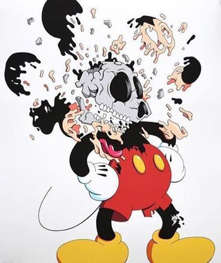 """Deconstructed Mouse""  By Matt Gondek Clean Break Limited Print"