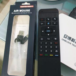 MP3 Rechargeable Air Mouse (All Android Boxes)