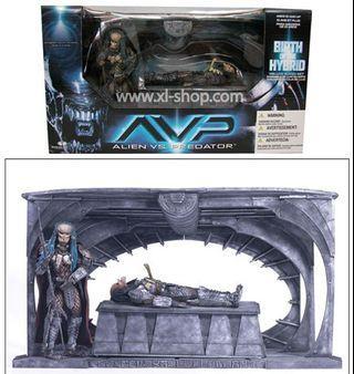 RARE AVP Mcfarlane deluxe boxed set Alien Vs Predator