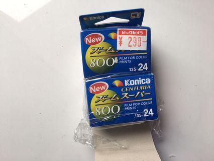 🚚 [過期底片]konica 高感度 800度 底片