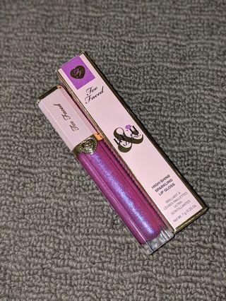 Too faced rich and dazzling high shine sparkling lip gloss