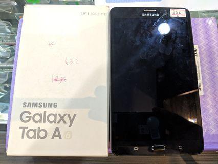 Samsung Galaxy Tab A 7.0 LTE 4G 2GB Ram 8GB - Fullset