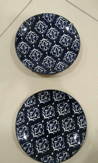 Wall Hanging Plate - Set of 2pcs
