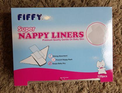 Baby Nappy Liners (Opened)
