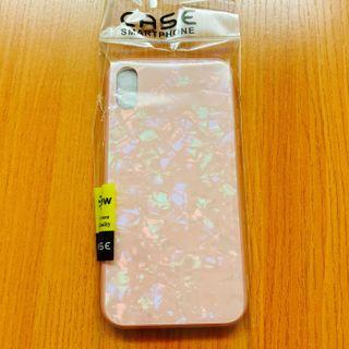 全新 Iphone XR Case 手機殻 大理石 硬殻 櫻花粉