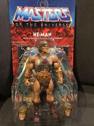 Super 7 Master Of The Universe Set Of 2: He-Man  Action Figure Rare