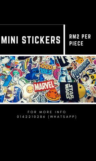 Mini sticker / small sticker / laptop sticker / phone sticker