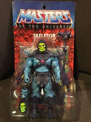 Super 7 Master Of The Universe Set Of 2 : Skeleton Action Figure Rare