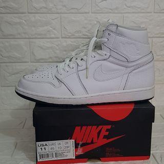 Air Jordan 1 High OG Perforated White