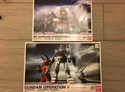 BB戰士 Operation V SD 高達 V 計劃 1/144 HG BB Gundam 高達模型