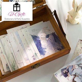 [PC]24 Solar Terms Lovely Rabbit Postcards