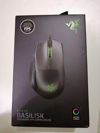 Razer basilisk ergonomic gaming mouse