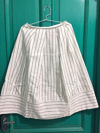 Striped vintage skirt