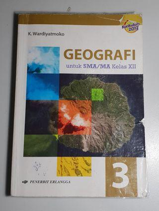 BUKU ERLANGGA GEOGRAFI KELAS XII (KURTILAS)