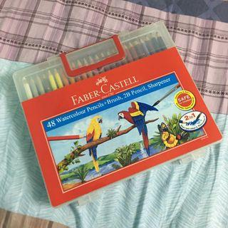 Faber Castell 48 Watercolour Pencils