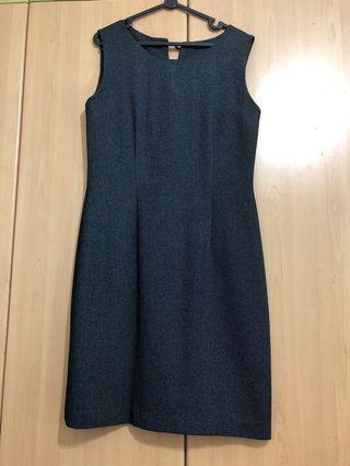 🚚 Grey work dress