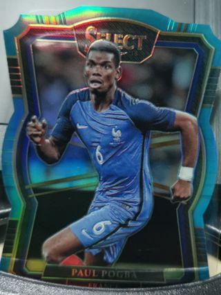 🚚 #219/249 Panini Select 2018 Dye Cut - Paul Pogba