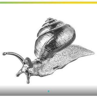 ikea 裝飾品 蝸牛(銀色 9公分) #半價居家拍賣會
