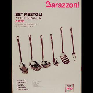 🚚 義大利百年品牌 Barazzoni 高級18/10不鏽鋼廚具
